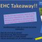 EHC Takeaway!!